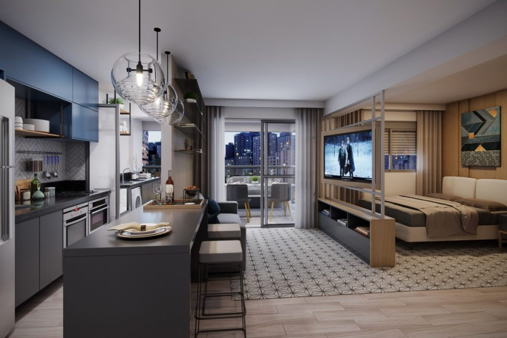 Apartamentos do 'futuro' são aposta do mercado imobiliário